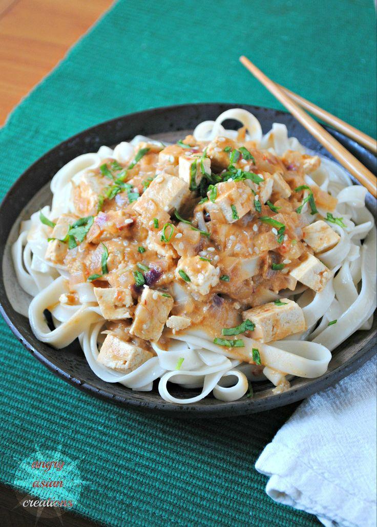 Noodles with Tofu Stir-Fry @Jennifer ~ Savory Simple
