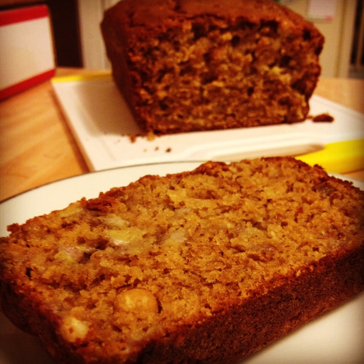 Peanut Butter Banana Bread | From Yours Truly | Pinterest
