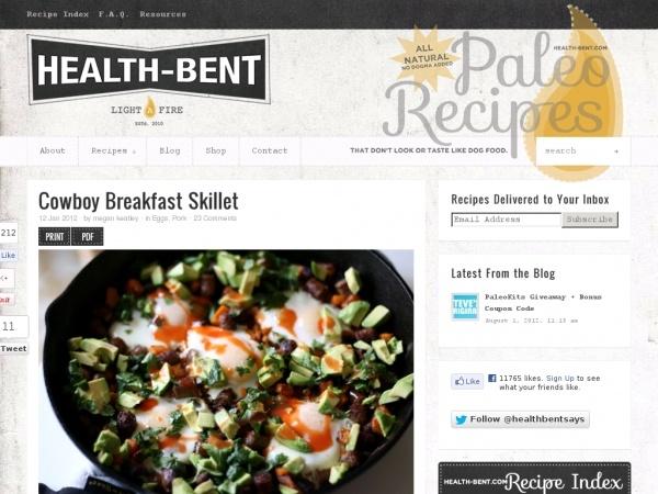 Cowboy Breakfast Skillet | Gluten Free | Pinterest