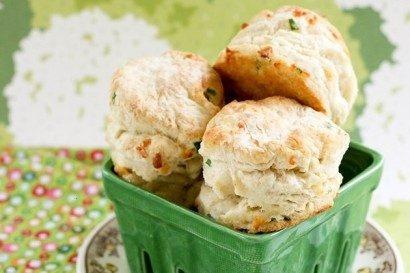Cheddar Green Onion Biscuits | Bakers Dozen | Pinterest