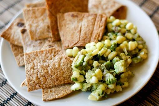 Fresh Corn and Avocado Salsa | Salads, Dressings, etc. | Pinterest