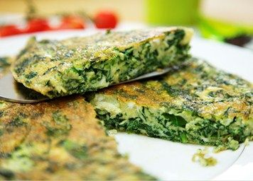 Spinach frittata recipe | Vegetarian | Lemon Squeezy