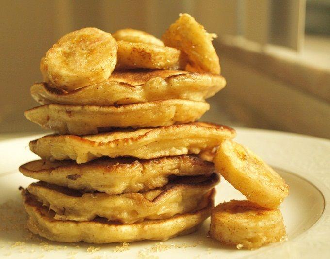 Oatmeal raisin pancakes...sound delicious!!! (minus the raisins, not a ...