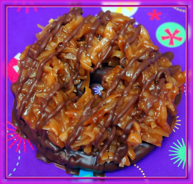 Hugs & CookiesXOXO: HOMEMADE SAMOAS | Cookies | Pinterest