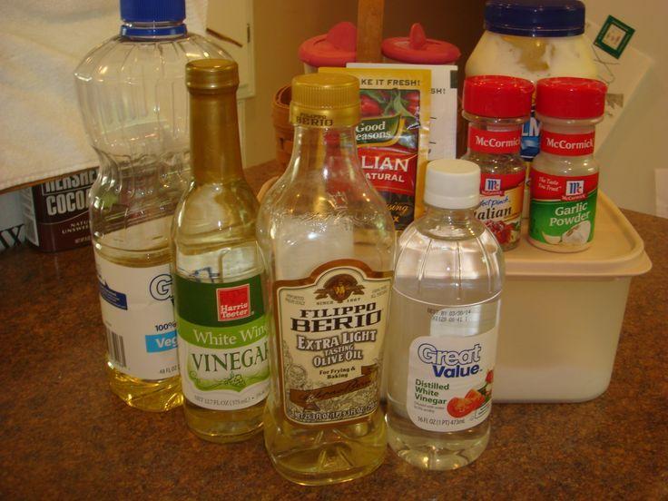 Olive Garden Salad Dressing Recipe Food Pinterest