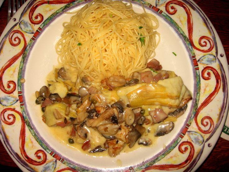 Romano's Macaroni Grill Chicken Scaloppine   Recipe