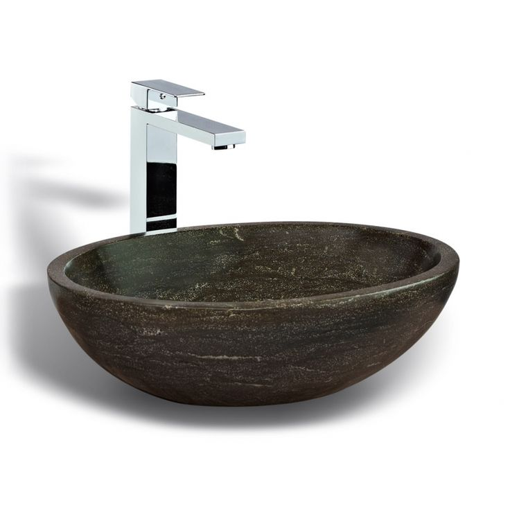 Unik Stone Sink : UNIK Stone Vessel Sink We love: Bathroom Sinks Pinterest