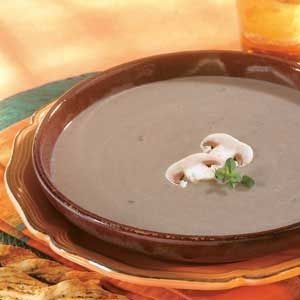 Simple and Savory Mushroom Soup | Recipe