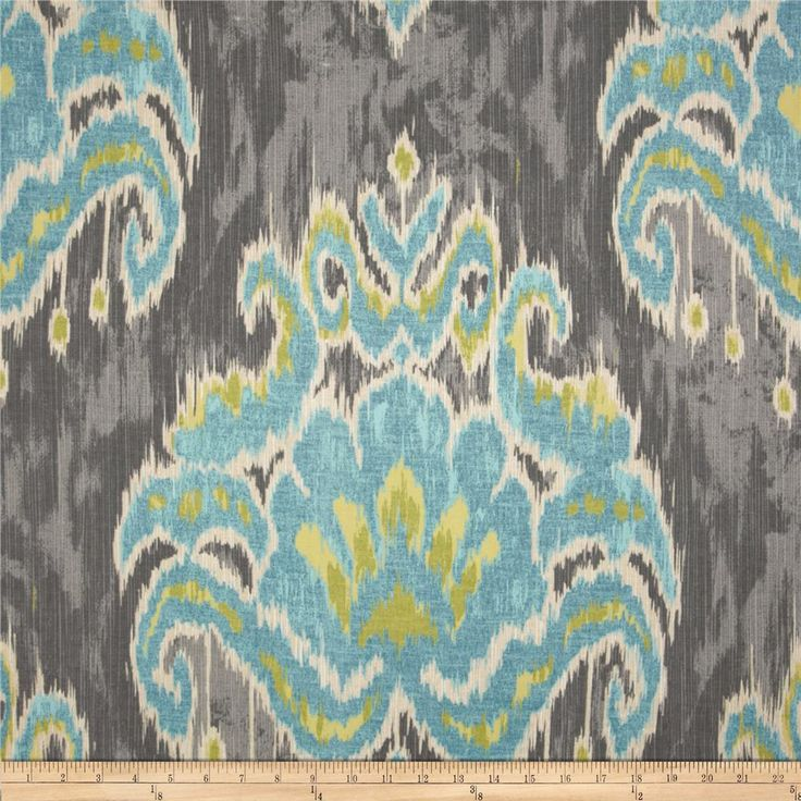 Yellow And Grey Ikat Curtains Images : ikat curtains