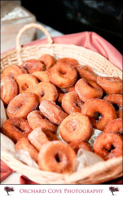 Dessert idea - hot apple cider doughnuts!