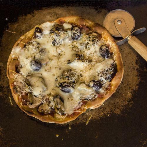 artichoke and taleggio pizza fritta | Lunch | Pinterest