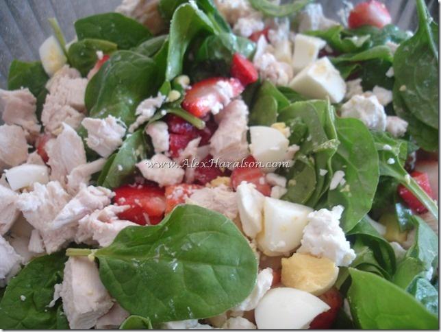 Grilled Chicken Strawberry Salad | Cooking, Salads | Pinterest
