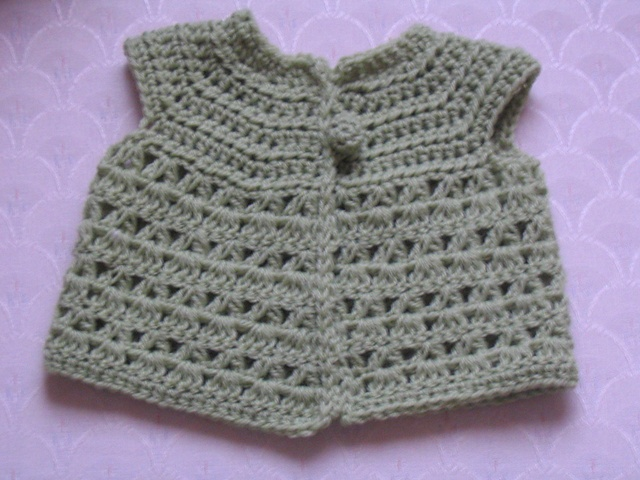 Ravelry: jackietns Baby sweater Crochet Pinterest