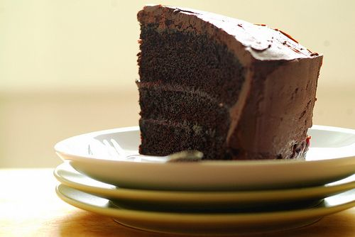 Double Chocolate Layer Cake | Food! | Pinterest