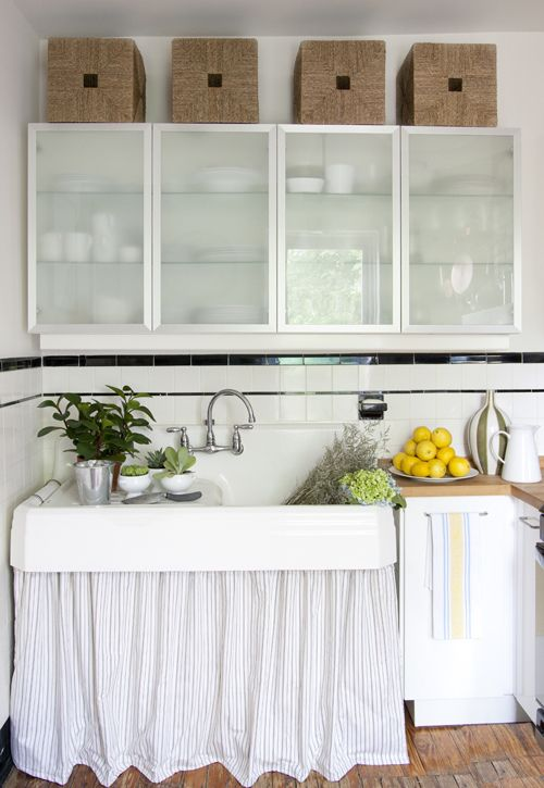 skirted sink. For the Home Pinterest