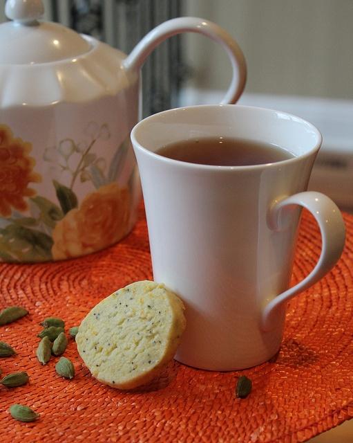 Orange Cardamom Cookies | sweets | Pinterest