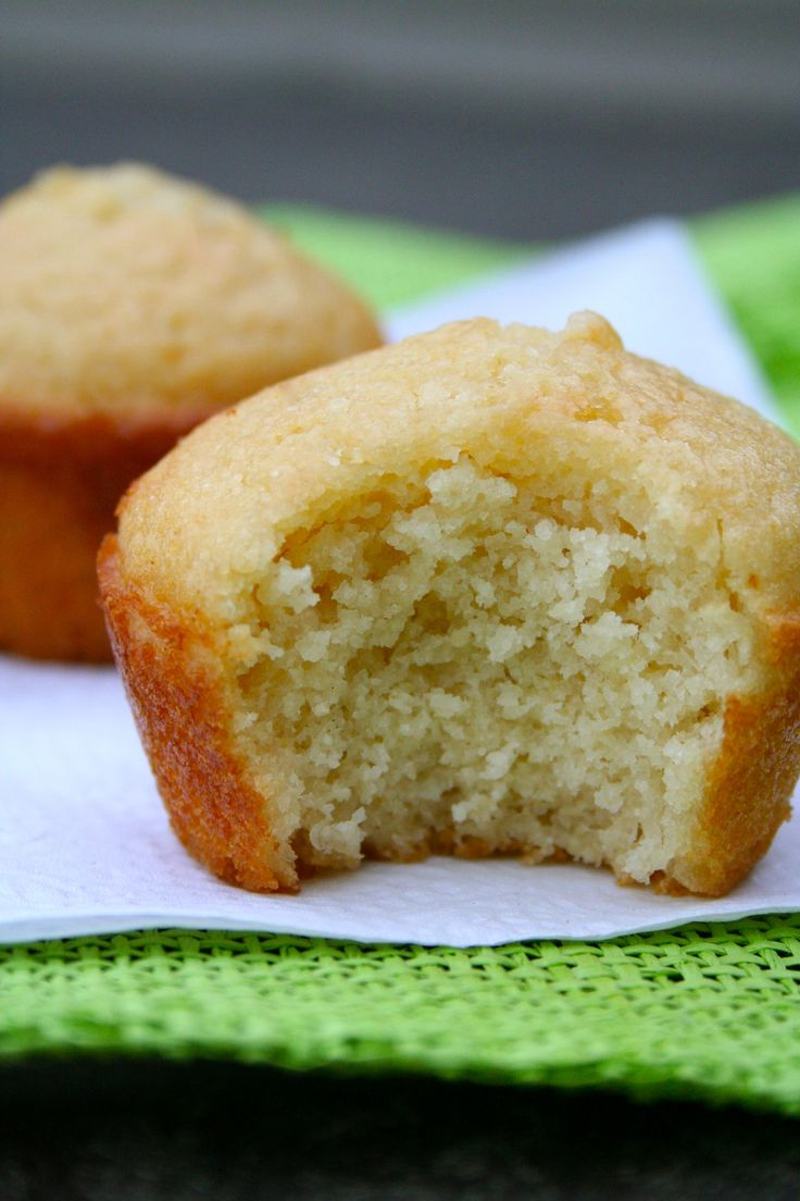 Honey Corn Bread Muffin--these turned out really well. I substituted ...