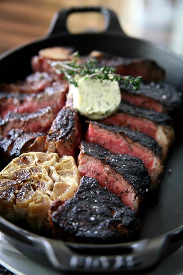 BLT Steak Gruyere Popovers Recipe — Dishmaps