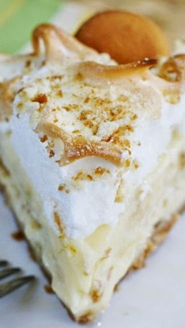 Banana Pudding Pie | Sweet treats | Pinterest