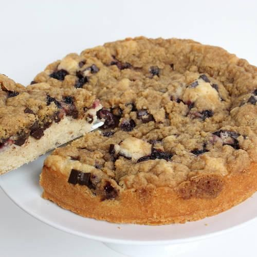 Cherry-Chocolate Chunk Streusel Cake | Made Just Right by Earth ...