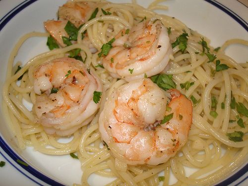 My Basic Shrimp Scampi Recipe that anyone can make, it's so easy.