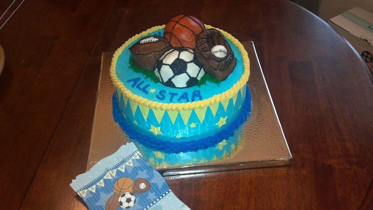 sports theme baby shower cake baby shower ideas pinterest