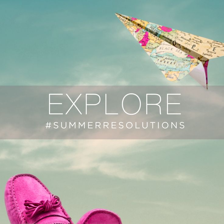 Travel. Whether it's across the world or across the street. #Explore #SummerResolutions
