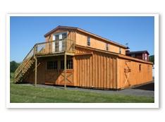 Monitor barns with living quarters joy studio design for Monitor barn plans with living quarters