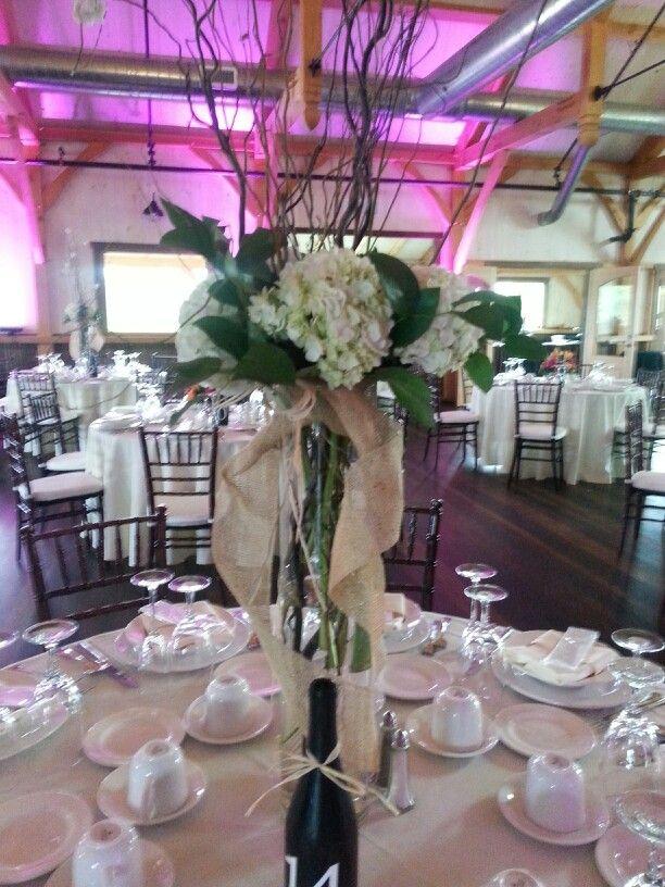 Centerpiece Ideas For A Vineyard Wedding Wedding Flowers By Designs