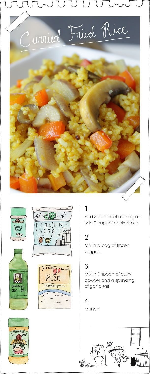 Curried Fried Rice