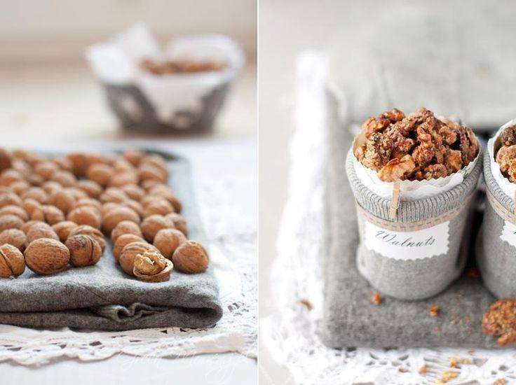 Caramelized walnuts | Sticky Sweets | Pinterest