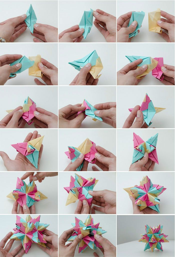 Diy origami star wedding ideas pinterest for Diy paper origami