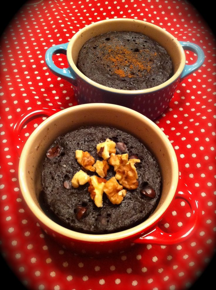 Minute Chocolate Mug Cake | paleo | Pinterest