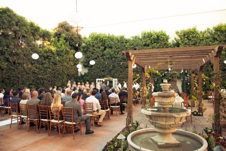 Pin by 24 carrots catering events on san juan capistrano wedding in for Franciscan gardens san juan capistrano