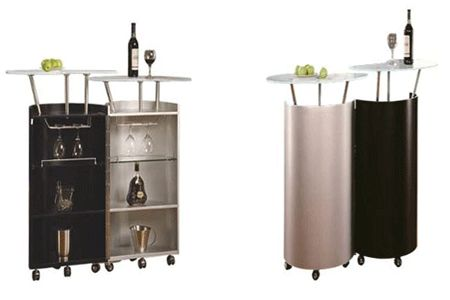 Mini home bar design ideas space saving home bar designs for Mini bars for small spaces