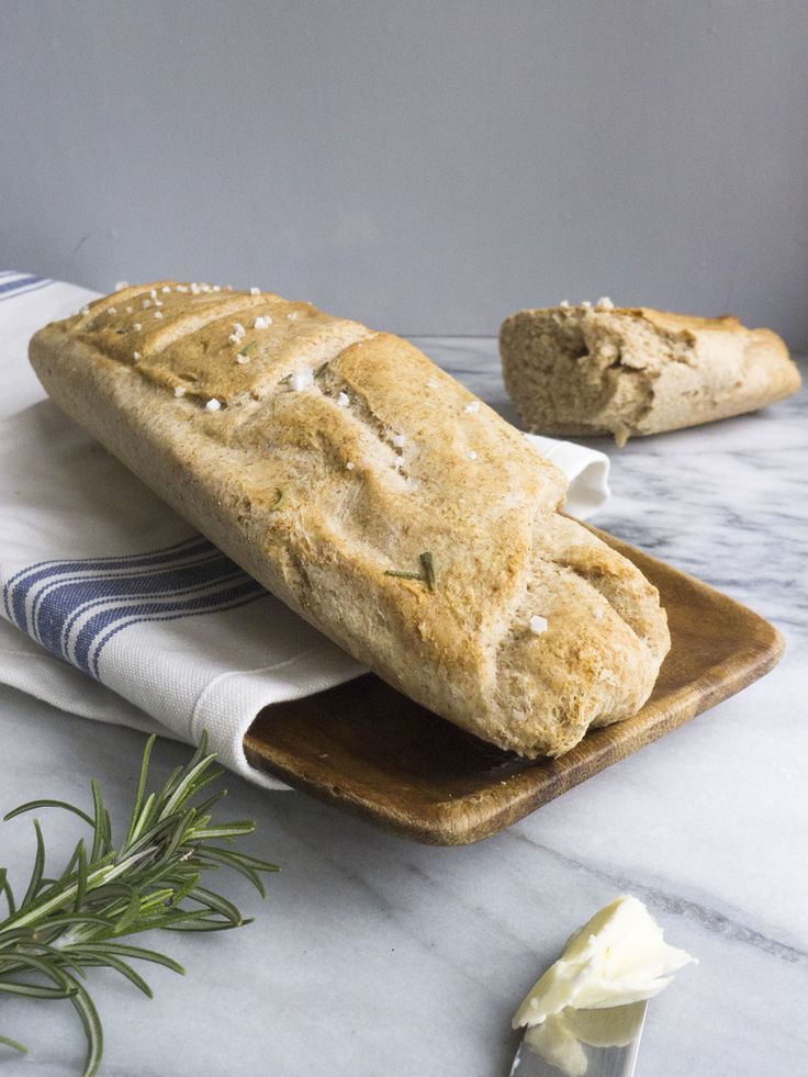 easy whole wheat baguette recipe | A Gentleman's Breads, Rolls & Tort...