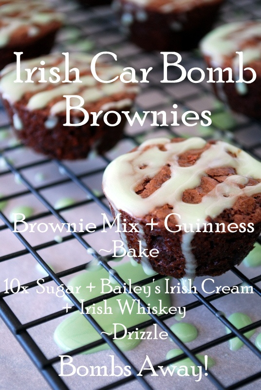 Irish Car Bomb Brownies & When Brownies Bomb | Home is Where the Boat ...
