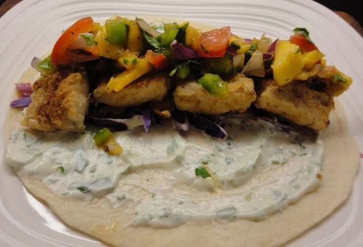 Fish Tacos With Yum Yum Sauce Recipe — Dishmaps