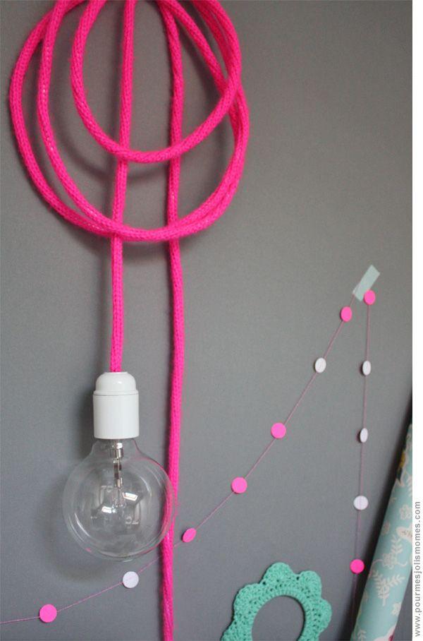 pour mes jolis mômes, mais pas que...: Je fabrique une baladeuse toute seule, si si même les branchements électriques