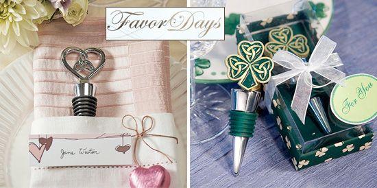 Irish Celtic Themed Wedding Favors