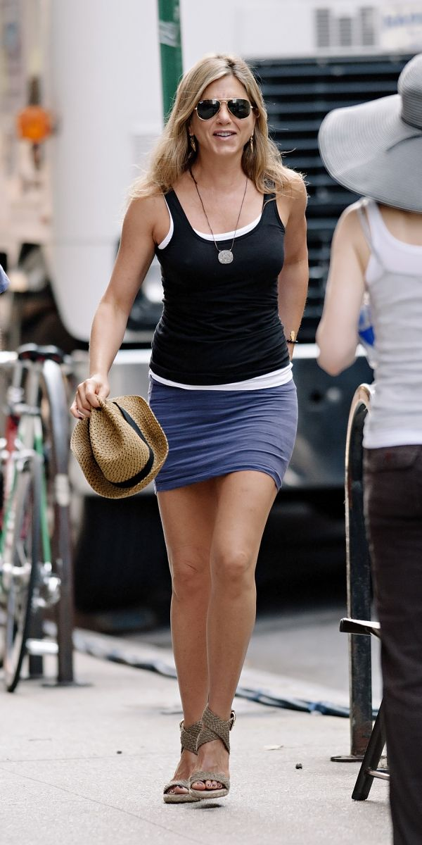 Jennifer Aniston Casual Cool Always Mis Estilos Favoritos Pinte