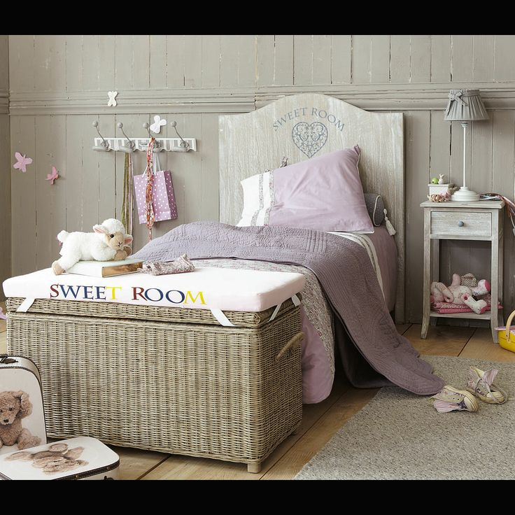 t te de lit enfant 90cm sweet room junior maisons du. Black Bedroom Furniture Sets. Home Design Ideas