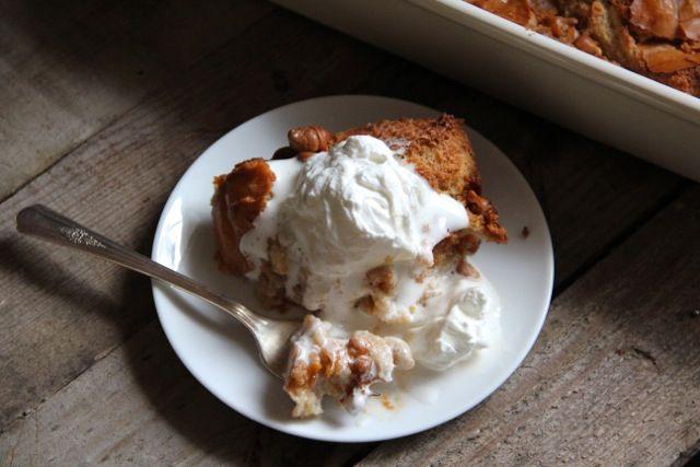 Butterscotch Bread Pudding | Recipe