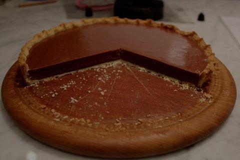My Milk Chocolate Caramel tart featured on Rose Levy Beranbaum's blog