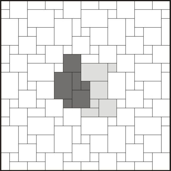 French Pattern Tile Layout