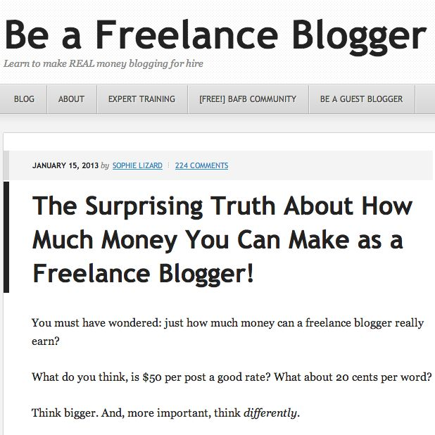 become freelance blogger from anywhere
