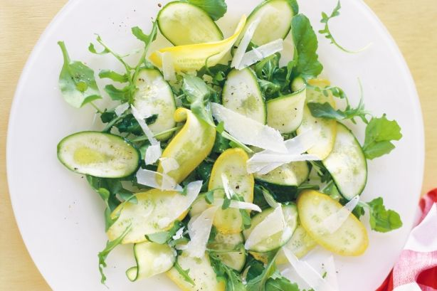 Zucchini carpaccio | YUM! | Pinterest
