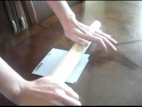 Emboss using a rolling pin, no machine needed.