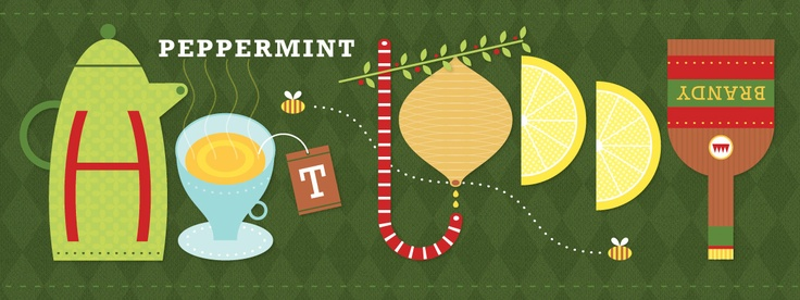 Peppermint Hot Toddy by Nate Padavick | They Draw and Cook | Pinterest