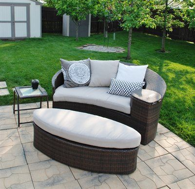 Wicker Patio Daybed From Target Backyard Pinterest